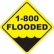 1 800 Flooded Logo
